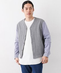 URBAN RESEARCH OUTLET/【WAREHOUSE】布帛切替カーデ/500798958