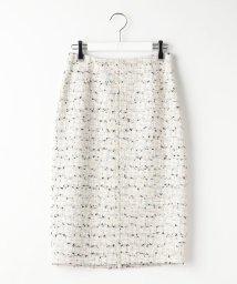 Ravissant Laviere/ファンシーツイードスカート/500806364