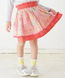 apres les cours/カラー刺繍テキスタイルスカート/500812806