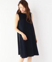 SHIPS WOMEN/little black:サイドレーステントワンピース/500818586