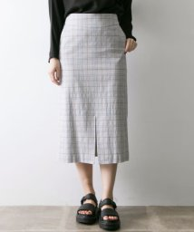URBAN RESEARCH/Arollaチェックタイトスカート/500820001