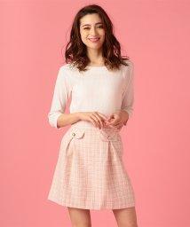 MIIA/【セットアップ対応商品】ファンシーツイードスカート/500820601