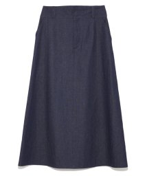 Mila Owen/リネンオックス台形ロングスカート/500820938