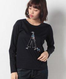 CARA O CRUZ/ロングスリーブプリントTシャツ/500738124