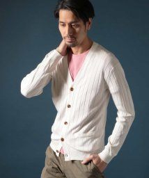 MICHEL KLEIN HOMME/Rusty silk カーディガン/500803041