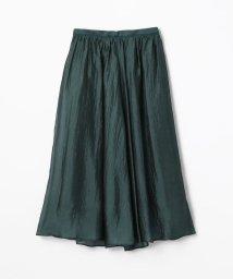 Ballsey/シルクナイロンオーガンジー ギャザースカート/500821968
