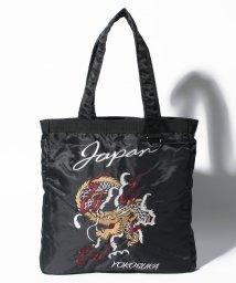 STYLEBLOCK/スカジャン風刺繍入りトートバッグ/500761135