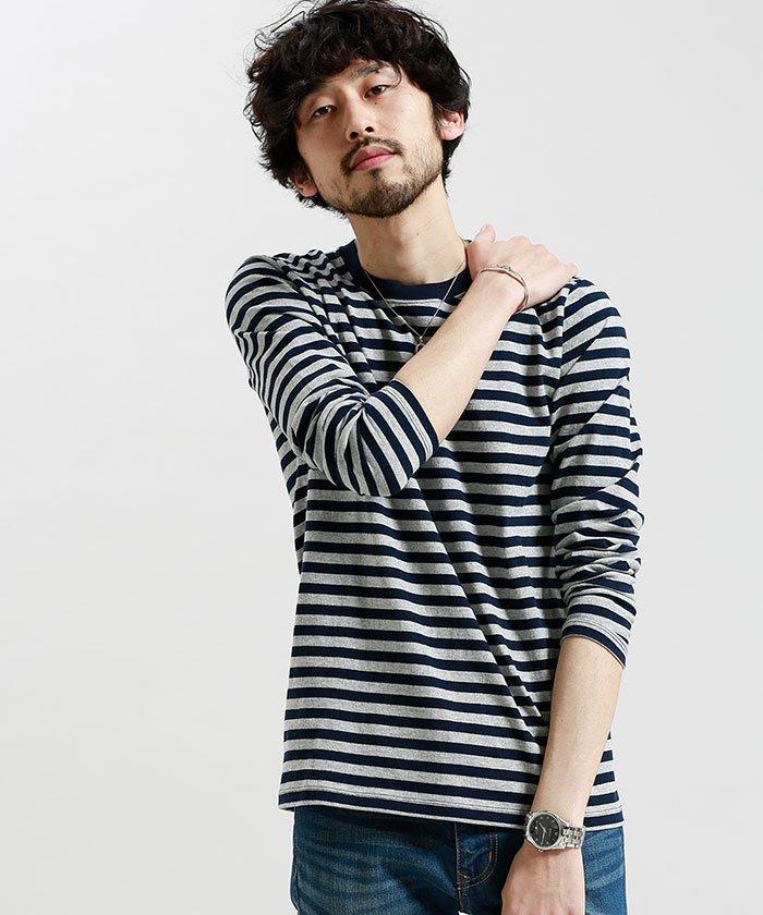 ボーダーTシャツは半袖、長袖のどちらが使いやすいのか 画像1