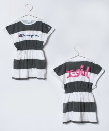 X-girl Stages/XGS×CHAMPION ボーダーNSワンピース/500808509