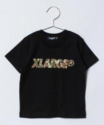 XLARGE KIDS/カモスタンダードロゴ SSTシャツ/500808518