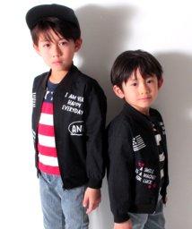 ANAP KIDS/ロゴプリントMA‐1/500817115