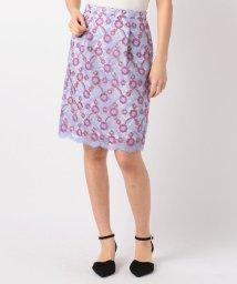 MISCH MASCH/フラワー刺繍タイトスカート/500656250