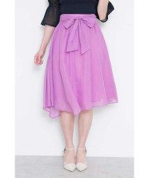 PROPORTION BODY DRESSING/【CanCam  6月号掲載】ブライトスパンボイルアシメスカート/500730649