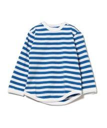 こどもビームス/こども ビームス / ベビー 1cm ボーダー 長袖 Tシャツ (ユニセックス80〜90cm)/500758335