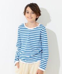 こどもビームス/こども ビームス / 1cmボーダー 長袖Tシャツ (95~150cm)/500758336
