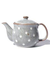 Afternoon Tea LIVING/ドット柄茶漉し付きティーポット/500797031