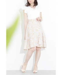 PROPORTION BODY DRESSING/【美人百花 5月号掲載】ラッフルリーフプリントスカート/500799650