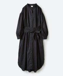 haco!/羽織りにもなって着回しのきくサッシュベルト付きシャツワンピース/500821118