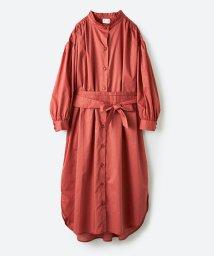 haco!/【mer8月号掲載】羽織りにもなって着回しのきくサッシュベルト付きシャツワンピース/500821118