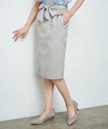 ROPE' PICNIC/【HAPPY PRICE】麻調アイラインスカート/500825365