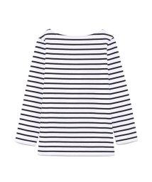 Mila Owen/後ろ開きボーダーロングTシャツ/500827940