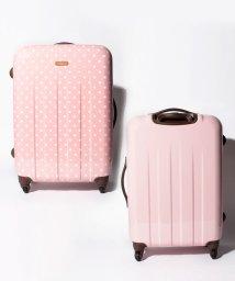 addy selection/【addy】ポルカ スーツケースM ファスナーキャリー/500809478