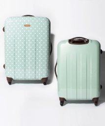 addy selection/【addy】ポルカ スーツケースM ファスナーキャリー/500809479