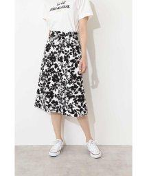 NATURAL BEAUTY BASIC/ボタニカルプリントスカート/500825150