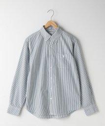 coen/タイプライターストライプボタンダウンシャツ/500825349