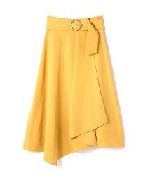 PROPORTION BODY DRESSING/《BLANCHIC》ベルテッドアシメスカート/500828231