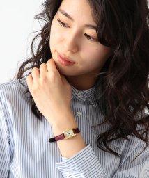Demi-Luxe BEAMS/Demi-Luxe BEAMS / リザード腕時計/500744110