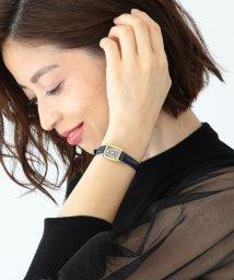 Demi-Luxe BEAMS/【BAILA12月号掲載】【CLASSY.11月号掲載】Demi-Luxe BEAMS / リザード腕時計/500744110