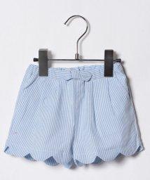 petit main/リボンつき裾スカラップキュロット/500817841