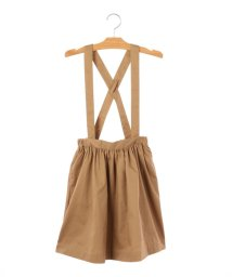SHIPS KIDS/SHIPS KIDS:ジャンパースカート (キャメル)(140~150cm)/500830040