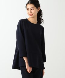 Demi-Luxe BEAMS/Demi-Luxe BEAMS / ぺプラム プルオーバー/500830761
