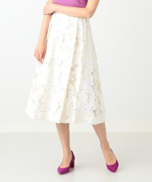 Demi-Luxe BEAMS/Demi-Luxe BEAMS / フラワージャカードスカート/500831638