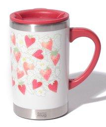 Afternoon Tea LIVING/イチゴ柄スリムマグカップ/500743092