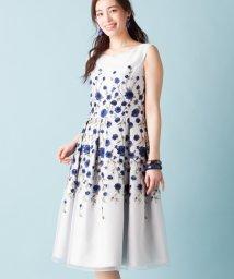 Leilian PLUS HOUSE/ボタニカル刺繍ワンピース/500765147