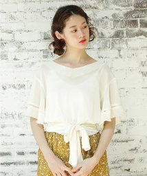 NICE CLAUP OUTLET/【one after another】楊柳レースTOPS/500768398