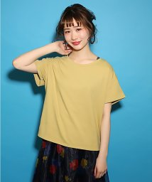 NICE CLAUP OUTLET/【one after another】うしろレースアップTシャツ/500768510