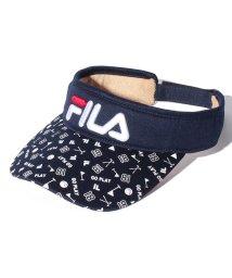 FILA GOLF/サンバイザー/500769306