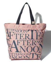 Afternoon Tea LIVING/スリットポケット付きロゴバッグM/500809465