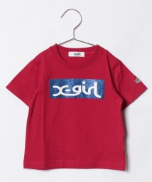 X-girl Stages/ボックスロゴTシャツ/500817858