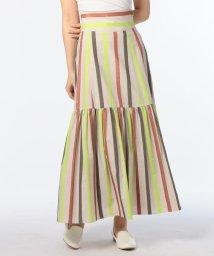 NOLLEY'S/ラメマルチストライプスカート/500822360