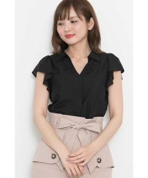 PROPORTION BODY DRESSING/スキッパー刺繍ブラウス/500830117