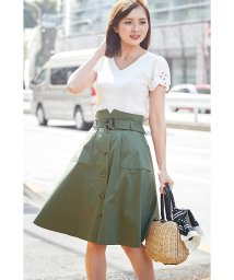 PROPORTION BODY DRESSING/【美人百花 5月号掲載】トレンチフレアースカート/500830121