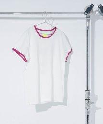 nano・universe/【mina 7月号掲載】HEAD×安西こずえ/別注パイピングプリントTシャツ/500831787