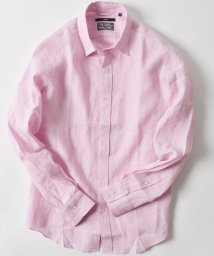 SHIPS MEN/SC:  BAIRD MCNUTT  アイリッシュリネン レギュラーカラーシャツ/500837638