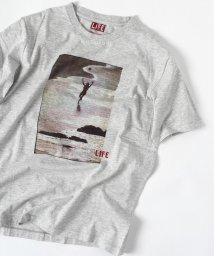 """SHIPS MEN/SC: """"LIFE"""" グラフィック プリント Tシャツ/500837645"""