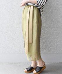 SHIPS WOMEN/オーガンジースカート/500837658